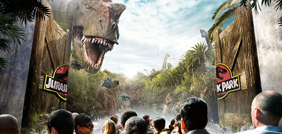 Universal Studios Hollywood<sup>SM</sup> Los Ángeles, California Jurassic Park<sup>®</sup> The Ride